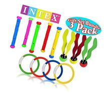 Intex Underwater Swimming/Diving Pool Toy Rings , Diving