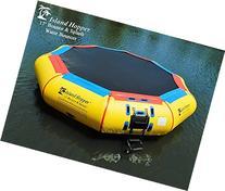Island Hopper 17' Bounce N Splash Padded Water Bouncer