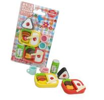 Iwako Japanese Bento Lunch Eraser Set