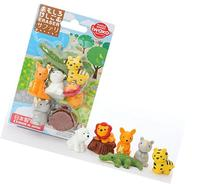 Iwako Japanese Safari Eraser Set