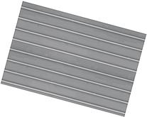 JTT Scenery Products Plastic Pattern Sheets: Ribbed Roof,
