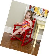 Jack-Post KN-10R Classic Child's Porch Rocker Red