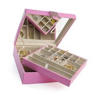 Jewelry Box - 28 Section Classic Jewelry Organizer with