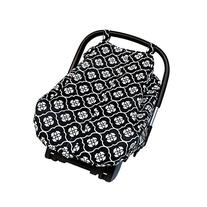 Jj Cole Car Seat Canopy, Black Floret