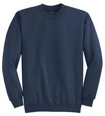 Joe's USA- Men's TALL Ultimate Crewneck Sweatshirt-Navy-4XLT