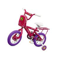 "John Deere 12"" Bicycle Pink"