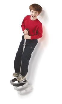 Jumparoo Anti-Gravity Pogo Stick by Air Kicks, Small