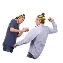 Jumpin' Banana Doody Head Velcro Cap Poo Flinging Game