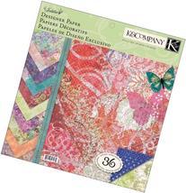 K&Company K388970 Jubilee Designer Paper Pad 12 in. x 12 in