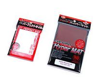 KMC Hyper Mat Sleeve Red  + 100 Pochettes Card Barrier
