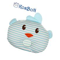 KSB 11 Inches Infant Baby Pillow,Soft Anti Roll Baby Head