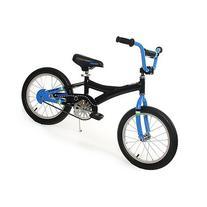 KaZAM Alloy Pedal Bike with Coaster Brake, 16-Inch, Black/Blue