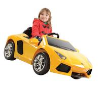 Kalee LP 700-4 Battery-Powered Ride-On, Yellow