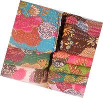 Designer Bedspreads Tropical Kantha Quilt Girls Bedding