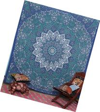 Kayso Kaleidoscopic Star Tapestry Intricate Floral Design