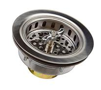 Keeney 1433SS Sink Strainer with Turn 2 Seal Basket,