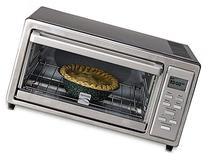 4 slice Digital Toaster Oven with 9