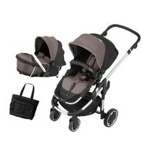 Kiddy - Click n Move 3 Stroller and Carrycot with Diaper Bag