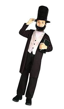 Kids Abraham Lincoln Costume - Large