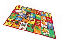 "Kids Rug ABC FRUIT Area Rug 39"" X 58"" for Playroom & Nursery"