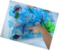 Jelly BeadZ 3 Color-Blue-Water Bead Gel, 3 Pks of 10 Grams