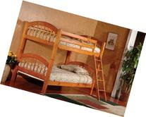 King's Brand Furniture B125H Wood Arched Design Convertible