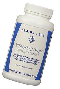 Klaire Labs Vitaspectrum Capsules, 180 Vegetarian Capsules