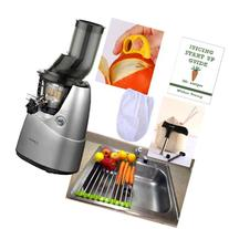 Kuvings Whole Slow Juicer Combo Pack 3 + Folding Drain Rack