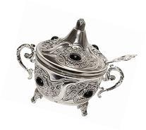 L'Shanah Tovah Happy&Healthy Decorative Dish Silver Plated