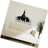 LDS Temple Vinyl Wall Decal, Mormon Temple Decoration
