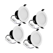 LE 4 Pack 6W 3.5-Inch LED Recessed Lighting, 50W Halogen