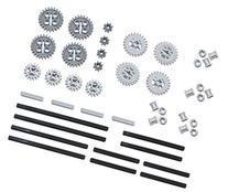 LEGO 46pc Technic gear & axle SET #4 Includes RARE CROWN