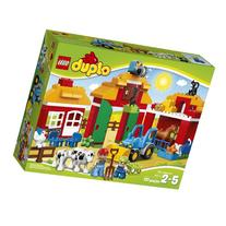 LEGO DUPLO Town Big Farm 10525 Toddler Toy, Large Building