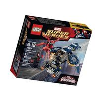 LEGO Super Heroes 76036 Carnage's Shield Sky Attack Building