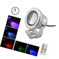 LEMONBEST® 10W LED RGB Multi-color Changing LED Underwater