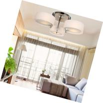 LOCO Acrylic Chandelier with 3 lights  Flush Mount