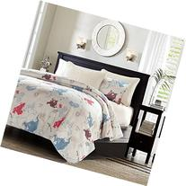 LOVO Nautical Adventure Quilted Throw Ultra Soft Comforter