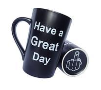 LaTazas Unique Christmas Present Idea - Porcelain Coffee Mug