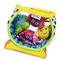 LAMAZE - My First Fishbowl Toy, Capture Baby's Curiosity with Sea Creatures to Rattle, Squeak and Collect with Colorful Patterns, Interesting Textures
