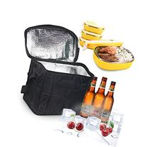 Large Insulated Bag, Oumers Lunch Tote Bag Box Cooler Bag,