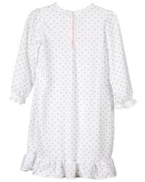 Laura Dare Little Girls Rosebud Jersey Long Sleeve Pajama