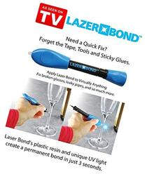 Lazer Bond - Liquid Plastic Resin that Seals in Seconds with