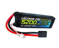 Lectron Pro 11.1 volt - 5200mAh 50C Lipo Pack with Bare