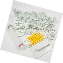 Leegoal Cake Tools 14 sets  Flower Fondant Cake Sugarcraft