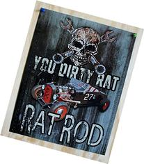 Legends - Dirty Rat Metal Tin Sign