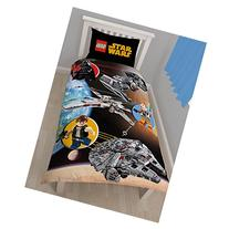 Lego Star Wars Cotton Single Duvet Cover and Pillowcase Set