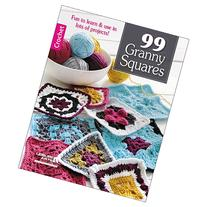 Leisure Arts 99 Granny Squares Motifs
