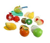 Liberty Imports Kitchen Fun Cutting Fruits Super Food