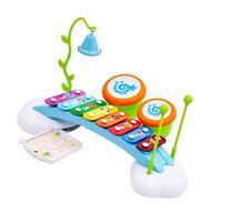 Liberty Imports Rainbow Xylophone Piano Bridge for Kids with