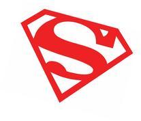 Licenses Products DC Comics Originals Superman Rub On
